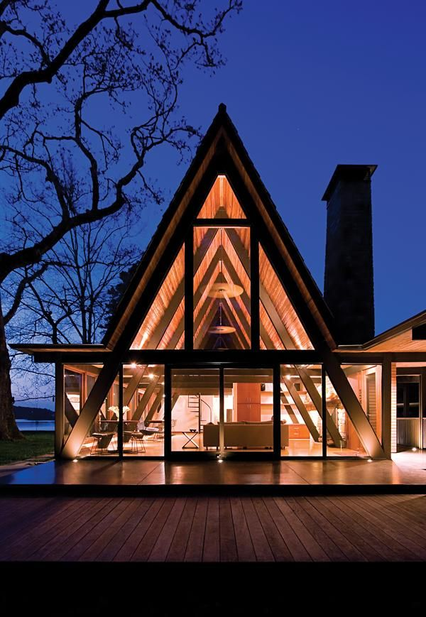 205 best Cabin images on Pinterest | Cottage, A frame cabin and A frame  homes