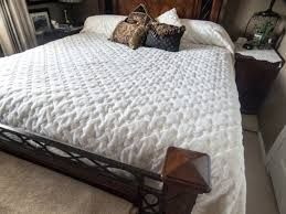 Image result for turning a queen bed cover into a king bed cover