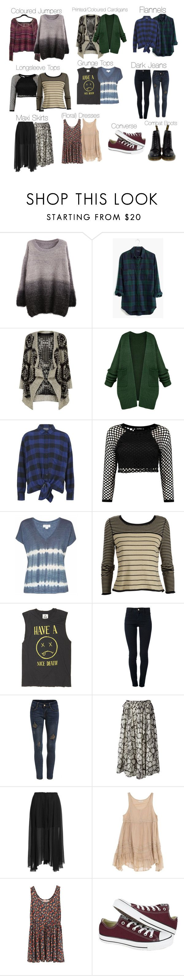 """""""Violet Harmon - ahs / american horror story"""" by shadyannon ❤ liked on Polyvore featuring Madewell, Mela Loves London, Cheap Monday, Velvet, STELLA McCARTNEY, Laurence Doligé, Étoile Isabel Marant, Billabong, Converse and Dr. Martens"""