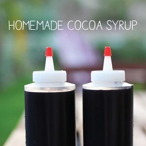 Cocoa Syrup (aka Homemade Chocolate Syrup)