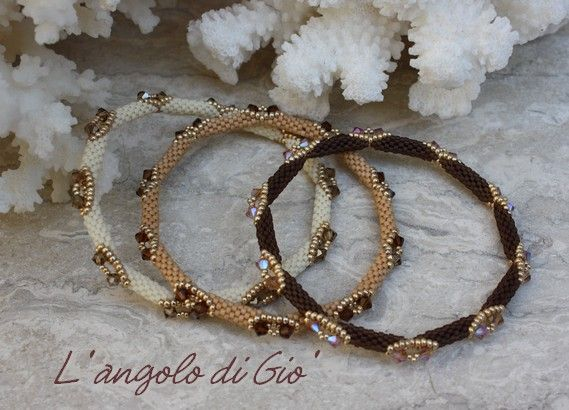 L' angolo creativo di Giò: Bracelet façon Puca