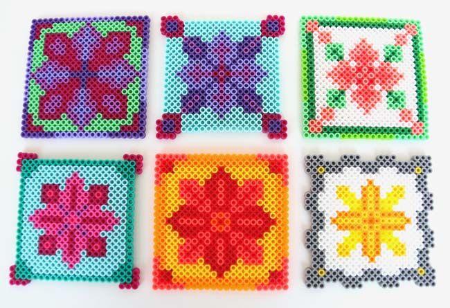 perler+bead+coasters+-+all+2.jpg 650×445 píxeles