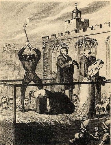 The execution of Katherine Howard - tudor-history Photo