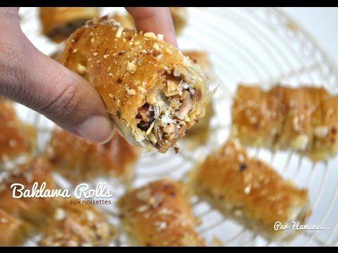 Baklawa Rolls - recette en vidéo - Recettes by Hanane