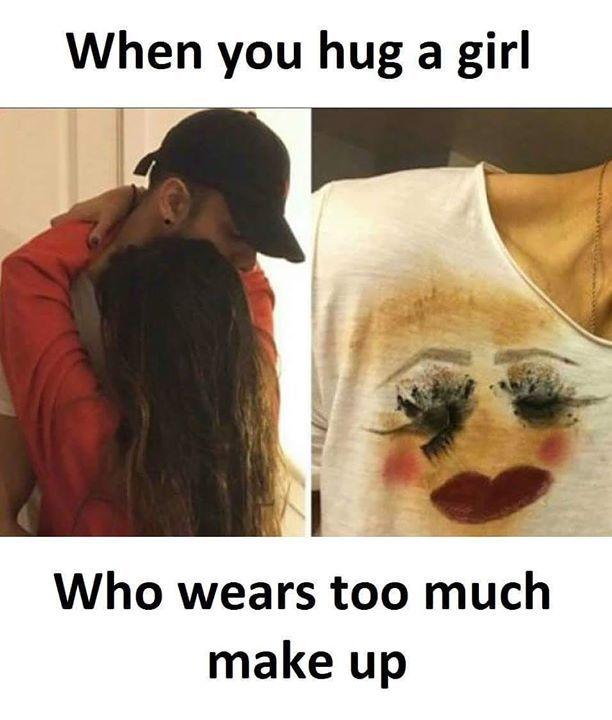 Are You that girl?   #toomuchmakeup #girls #fun #tshirt#design #badgirlsclub #eyeliner #lipstick #makeupproducts Credits: @mokhan