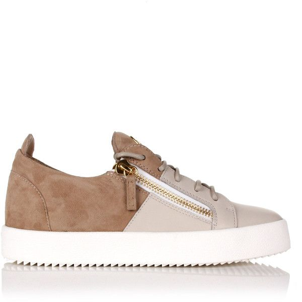Giuseppe Zanotti Double Classic Low-Top Sneakers ($1,055) ❤ liked on Polyvore featuring men's fashion, men's shoes, men's sneakers, mens zipper shoes, mens low profile shoes, giuseppe zanotti mens sneakers, giuseppe zanotti mens shoes and mens lace up shoes