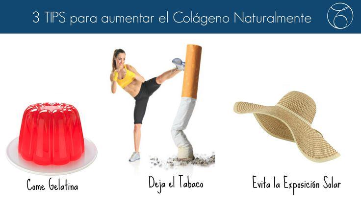 Cómo aumentar el colágeno naturalmente Estos tres tips ayudarán a aumentar el colágeno de tu piel, para que se vea más bella y joven. También puedes recurrir a métodos más definitivos como la radiofrecuencia facial.  http://www.mtmeler.com #belleza   #salud   #piel   #indiba   #colageno   #joven   #cuidate