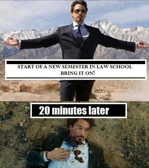 I plan to visit a law school...?