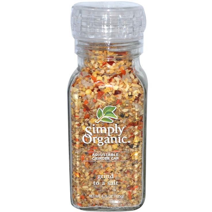 Simply Organic, Grind to a Salt Blend, 4.76 oz (135 g)
