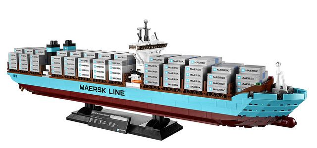LEGO Announces 10241 Maersk Line Triple-E Liner