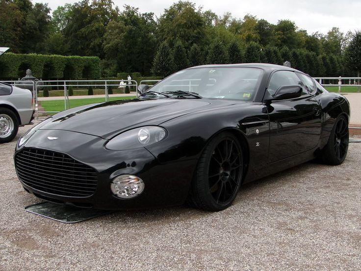 Full black Aston Martin DB7 Zagato  For more informations, please visit www.astonmartin-zagato.net