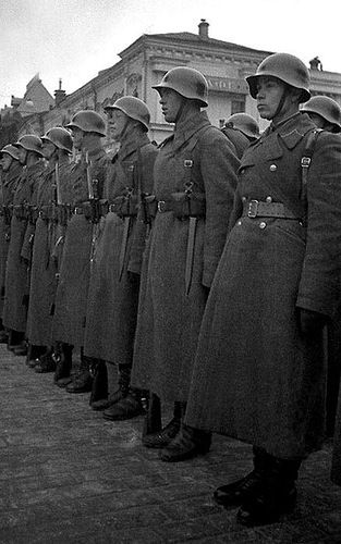 Red Army in the Red Square. Sometime in the thirties.                                                                                                                                                                                 More