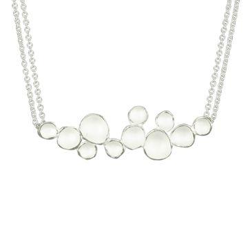Sarah Richardson's cloud pendant adds a certain subtle, elegant dottiness to your outfit! $130