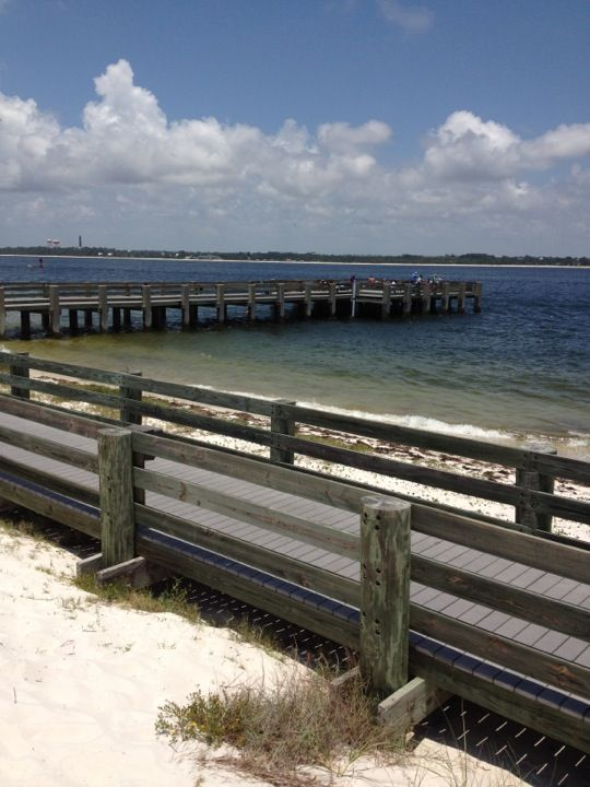 Fort pickens pier pensacola things to do pinterest forts for Pensacola beach fishing pier