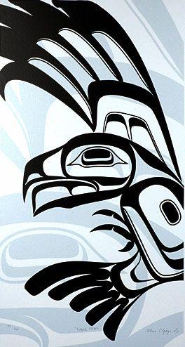 Lattimer Gallery - Alano Edzerza - Limited Edition Print - Eagle Strike
