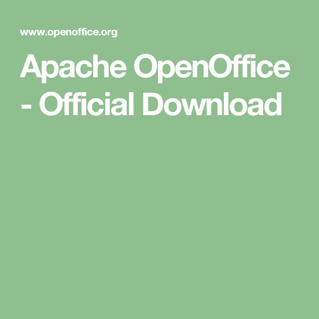 Apache OpenOffice - Official Download