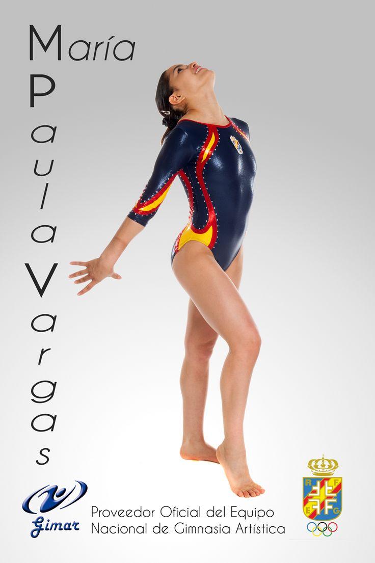 Maria Paula Vargas www.gympasport.se www.gimargym.com  Gymasticdräkter / leopards / maillots