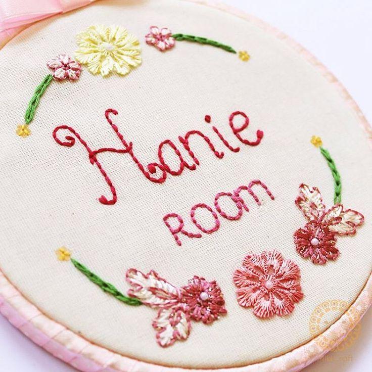 custom hoop embroidery
