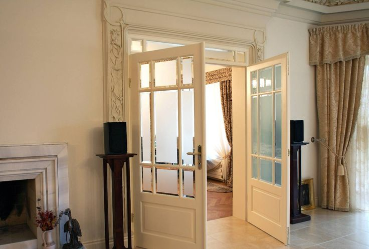 drzwi dębowe 2-skrzydłowe