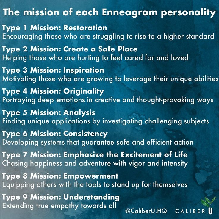 Caliberu enneagram on instagram were curious does your