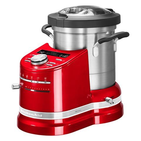 KitchenAid - Artisan KCF0103 Empire Red Cook Processor | Peter's of Kensington