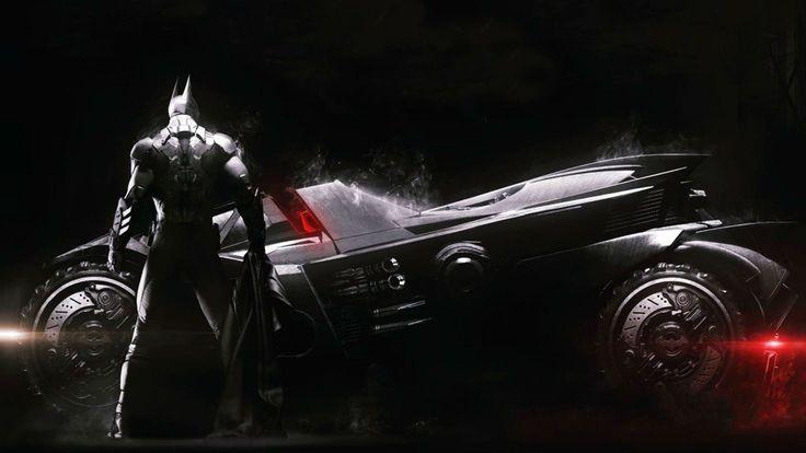 batman arkham knight art auto batmobile бэтмобиль