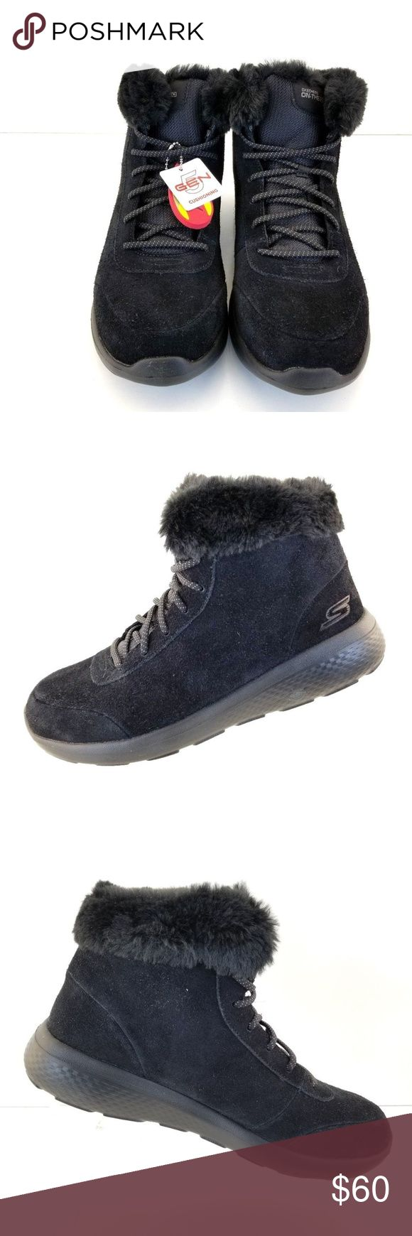 Skechers On The Go City 2 - 14627 Black Skechers On The Go City 2 - 14627 Black Bbk Womens Winter Boot Size 10M  store return Skechers Shoes Ankle Boots & Booties