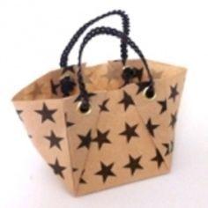 折り紙トートバッグの作り方 折り紙 紙小物・ラッピング アトリエ
