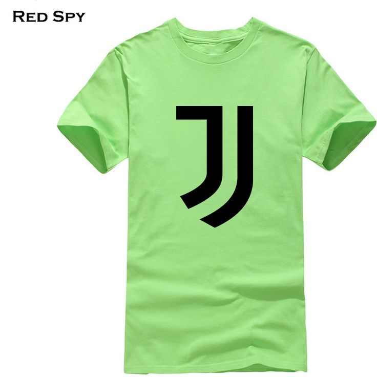 2017 New Juventus Logo print Women/men T Shirt short bianconeri Camiseta fans club T-Shirt Casual Italian Gianluigi Buffon Tees #Affiliate