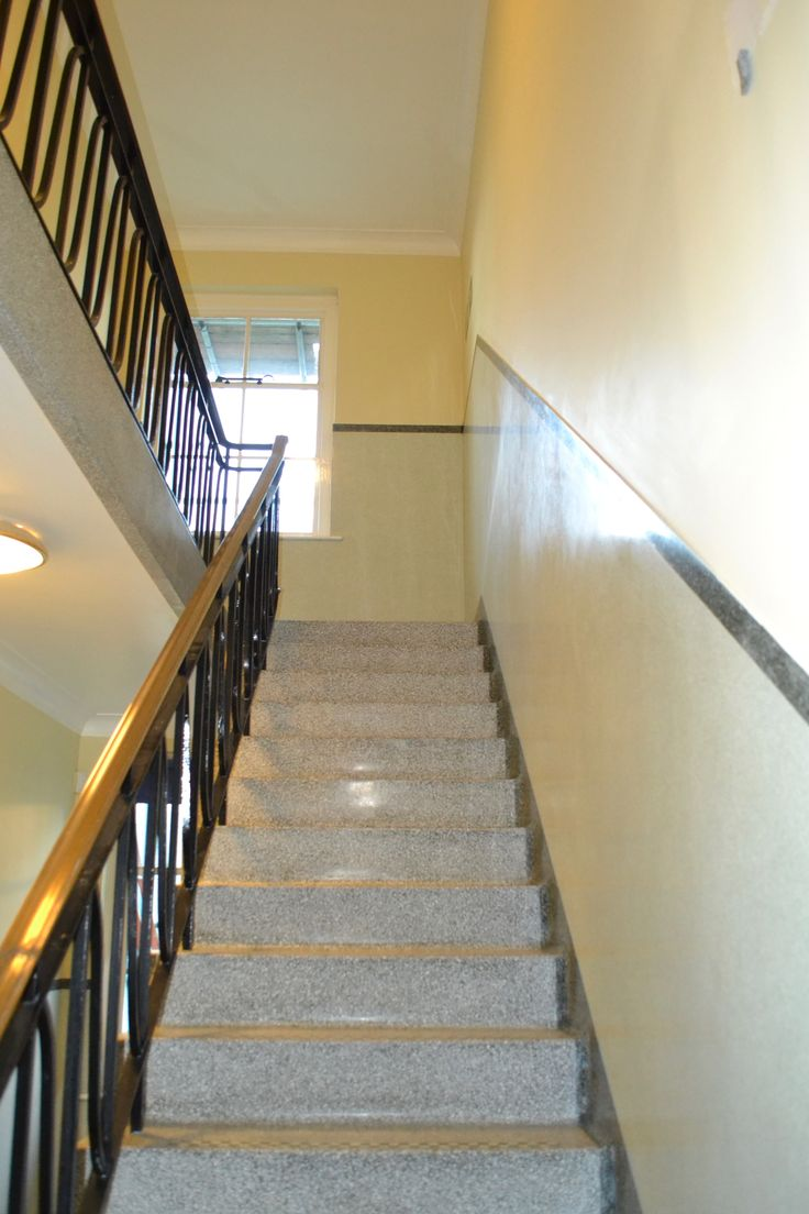 Terrazzo stair restoration cleaner polisher sealer East Sussex, West Sussex, Surrey, Hampshire, Kent and Berkshire.