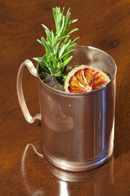 The Bonaparte Mule features Ketel One Vodka, Mandarine Napoleon, Orange Bitters, Vanilla and Clementine Syrup, Ginger Beer and Rosemary, pays homage to the famous French Emperor.