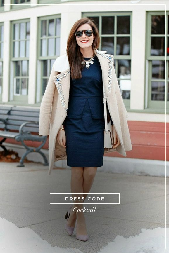 """What to wear when the dress code is """"Cocktail"""""""