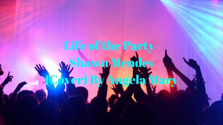 Life of the Party-Shawn Mendes (Cover) by Angela Mary