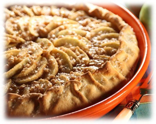 Featured Recipe: Toffee Apple Tart » The official blog of America's favorite frozen dough