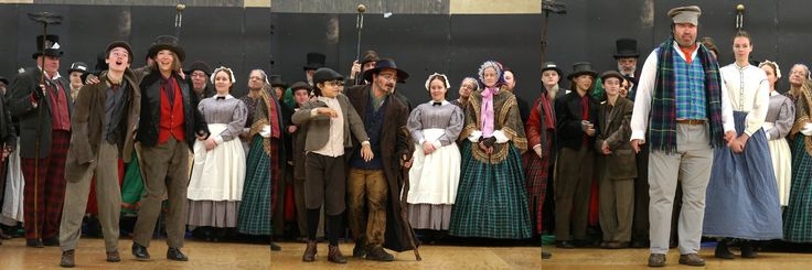 https://flic.kr/p/21ErDGC   Charley Bates, Artful Dodger, Oliver Twist, Fagin, and More, at the All-Character Round Robin