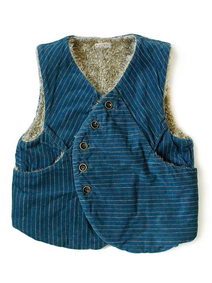 KAPITAL - WEB SHOP loooove this vest.