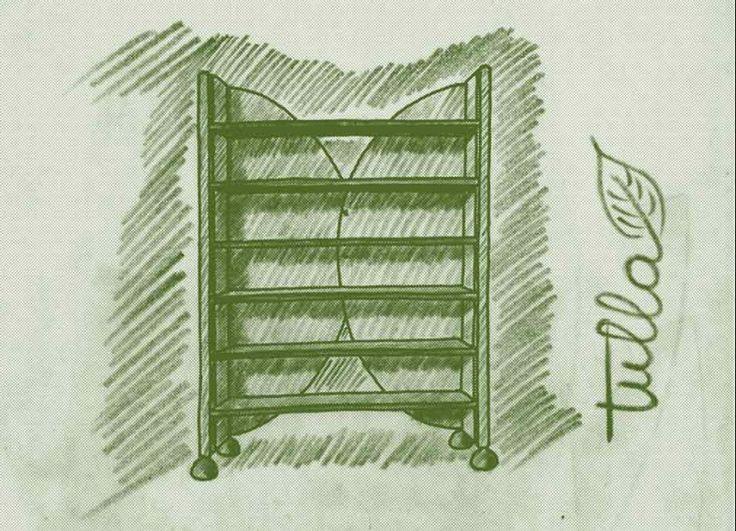 Mobile contenitore componibile ed attrezzabile, con predisposizione per il passaggio di cavi di alimentazione elettrica, interamente esente dall'emissione di vapori di formaldeide, grazie all'utilizzo di legno massello e lamiera metallica. La struttura è in lamiera metallica ondulata zincata, del tipo normalmente utilizzato in edilizia. oltre a dare una forte connotazione estetica, l'onda in sezione disegna la forma dei sostegni verticali in legno massello. Il semi guscio metallico, che…