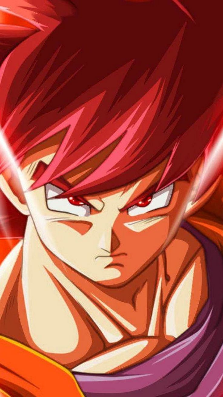 Android Wallpaper Goku Super Saiyan God 2019 Iphone X Wallpaper