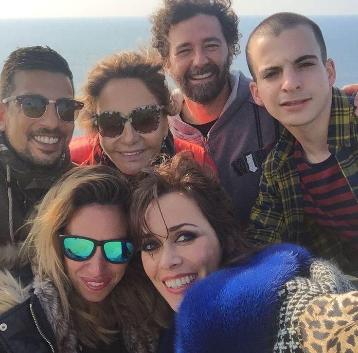 Another wonderful day with my best team!!!@mariosierrafotografo @yameljaltota @samsanz @loremart2283 @vickymarcosg @fannygautier8 @holacom  #bestteam #fashion #editorial #working #nature #pretaporter #asturias #farodelastres #picosdeeuropa #tazones #llanes #naturalparadise #wild #loveasturias by natyabascal