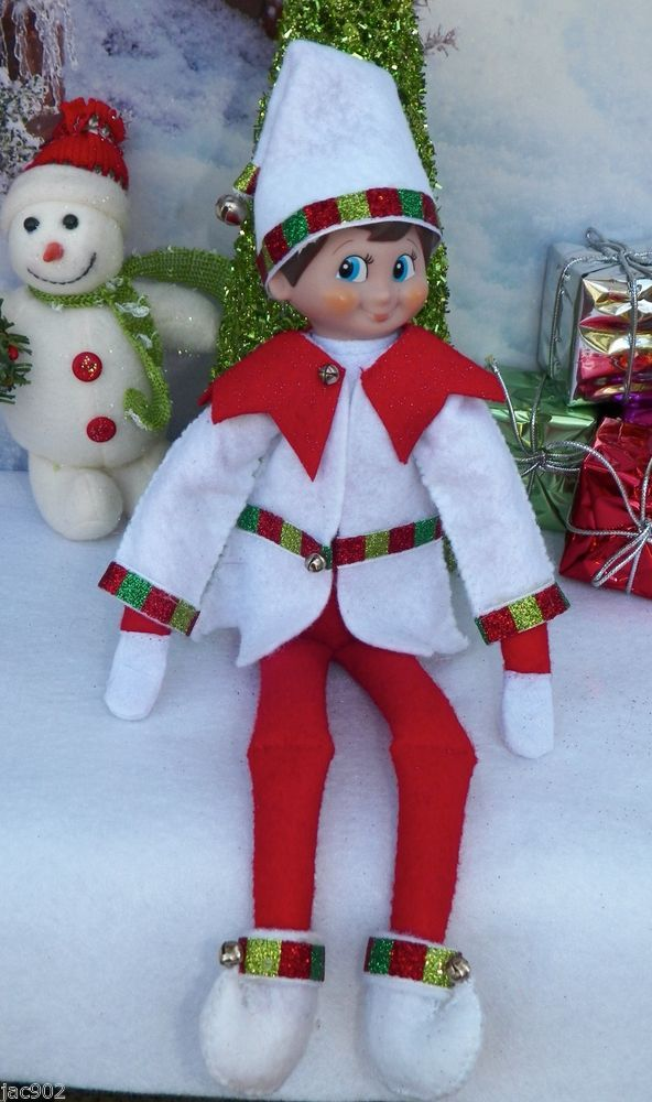 3pc Elfz on the Shelf  Christmas clothing which includes elf shoes