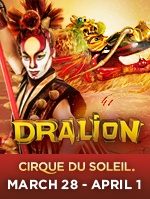 Cirque du Soleil - Dralion at The Bank of Kentucky Center March 28-April 1!