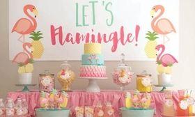 Καλοκαιρινό παιδικό πάρτι με θέμα τι άλλο; Φυσικά τα Φλαμίνγκο!   Ψάχνοντας για θέματα πάρτι στο διαδίκτυο πέσαμε πάνω στα ροζ φλαμίνγκο. Αυτά τα αξιολάτρευτα ροζ πουλιά που τα βλέπουμε ΠΑΝΤΟΥ φέτος το καλοκαίρι.  from Ροή http://ift.tt/2uDtb3S Ροή