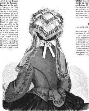 La Mode Illustree. January 5, 1863 | In the Swan's Shadow