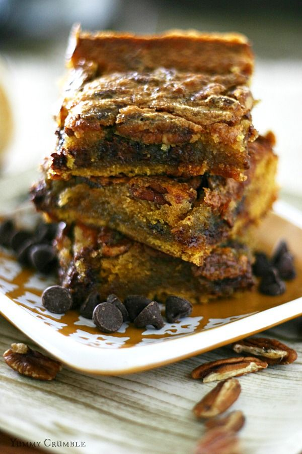 ... -Bars on Pinterest | 7 layer bars, Chocolate chip pecan pie and Bar