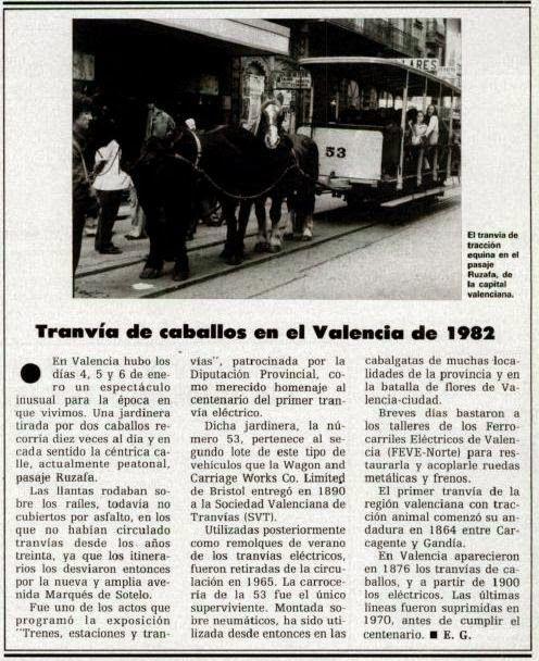 Caminos de Ferro: ¿El remolque tranviario mas antiguo de España?