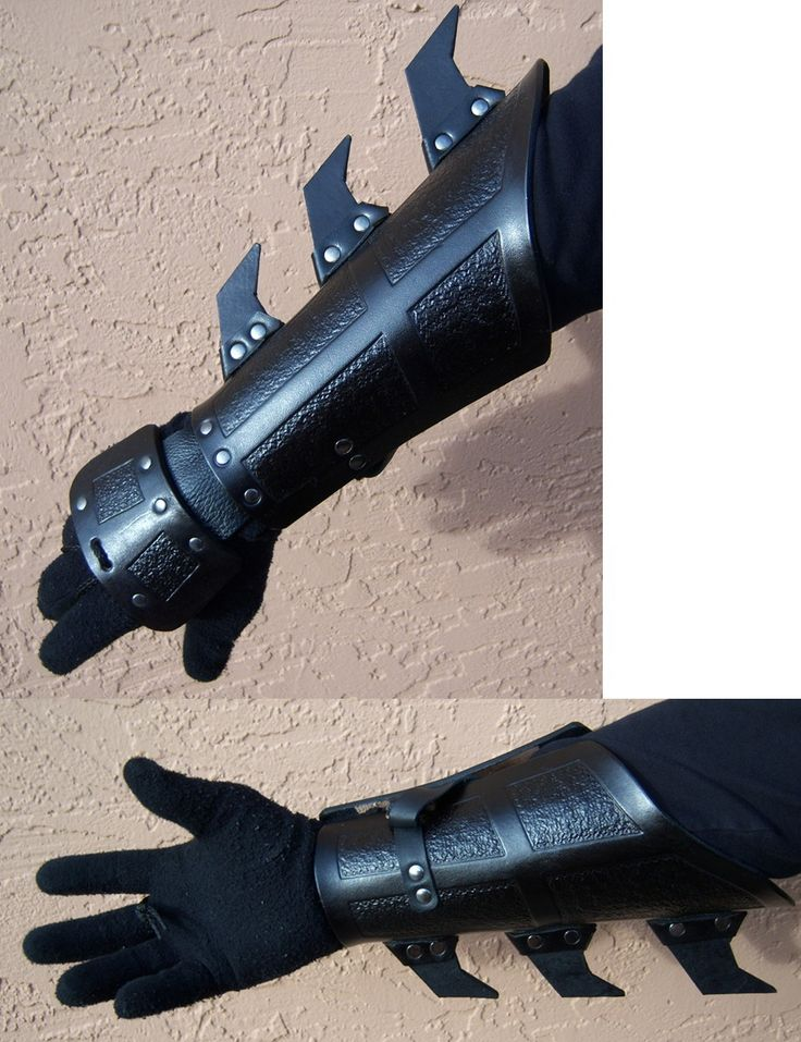 Ninja Gauntlets inspired by the Dark Knight Batman films