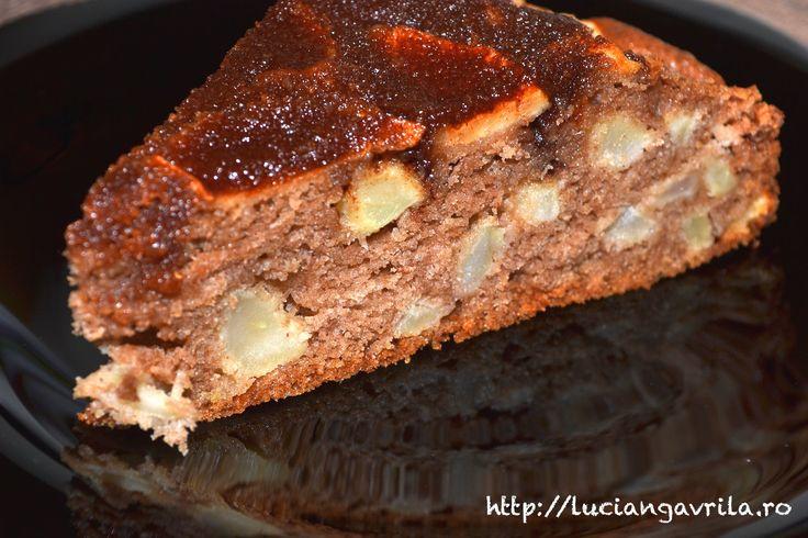 Swedish Apple Cake / Chec suede cu mere
