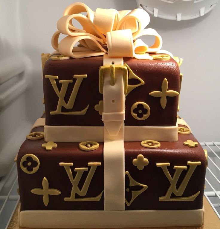 Louis Vuitton Birthday Cake Cake Design Birthday Cake