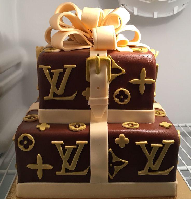 Happy Birthday Louis Vuitton Jean Cake