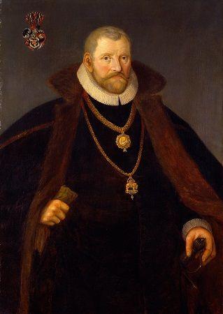 Christopher Walkendorff (1525-1601) Rigshofmester ridder af Elefantordern.